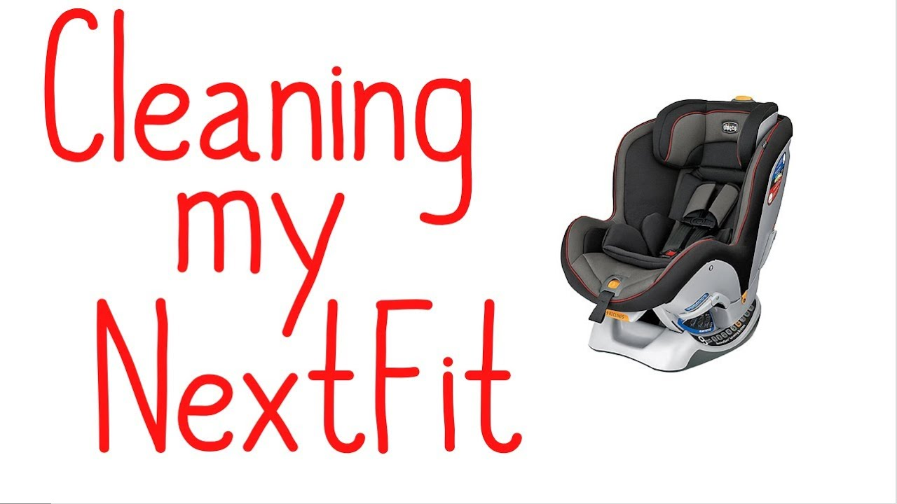 How I Clean My Chicco NextFit Car Seat - YouTube