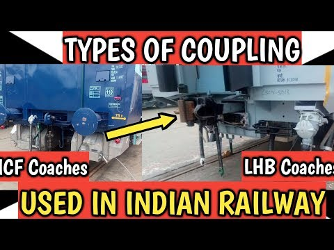 Types of Coupling Used in Indian Railways