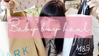 BABY BOY CLOTHING HAUL // HOLIDAY CLOTHES // PRIMARK & M&S