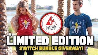 NEW T-SHIRTS w/ Pokemon Nintendo Switch Bundle Giveaway!  Electric vs Elemental (Pikachu vs Eevee)
