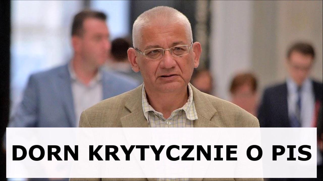 Dorn: Błaszczak prowadzi gierkę polityczną na szkodę Polski