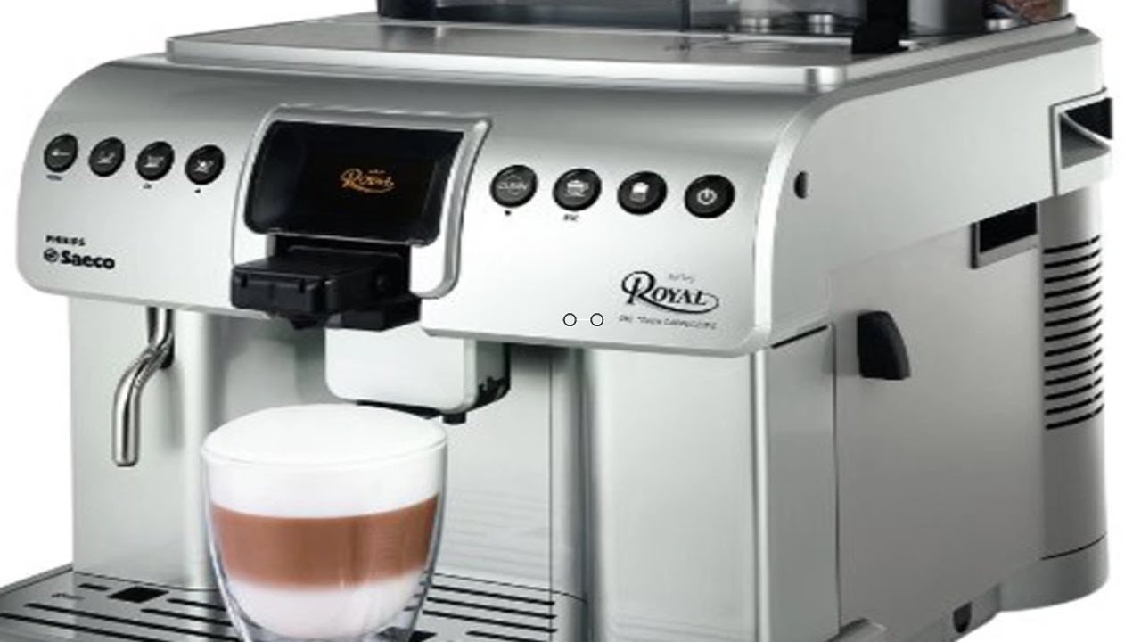 Philip Saeco Philips Saeco Hd8930 47 Royal One Touch Cappuccino Automatic Espresso Machine