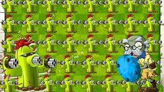 Plants vs Zombies 2 Full Cactus in Battlez - All Star vs Cactus Power UP Strategy in PVZ 2 Gameplay