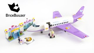 Lego Friends 41109 Heartlake Airport - Lego Speed Build