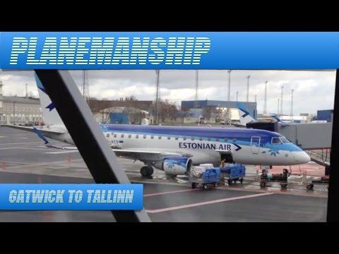 EasyJet A319. London Gatwick to Tallinn. November 2013.