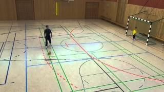 Hallenturnier F-Junioren der SG Töplitz  - Elfmeterschießen