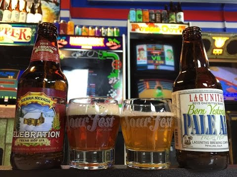 Battle Beers! Lagunitas Born Yesterday vs Sierra Nevada Celebration (Reviews #171 & 172)
