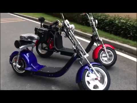 EEC approved Citycoco Harley electric scooter from Rooder Group factory HK Shansu Technology Limited