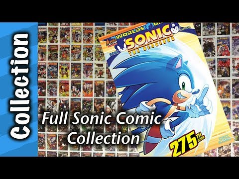 Sonic Main Comic Series Collection Collection - 275th Issue Celebration