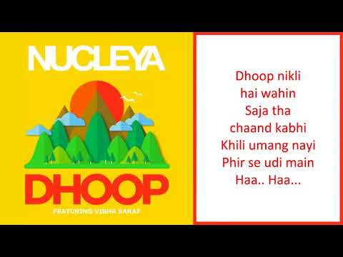 NUCLEYA   Dhoop feat Vibha Saraf   with...