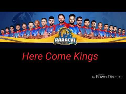 Karachi kings Official song lyrics 2018