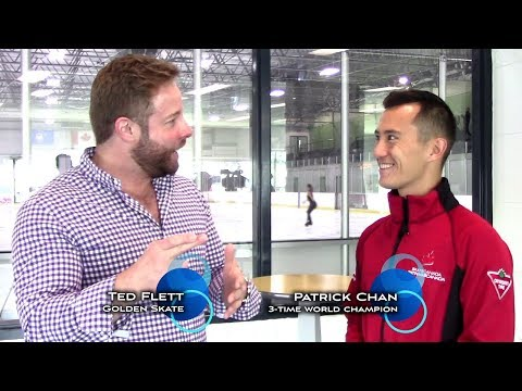 Golden Skate Interview with Patrick Chan