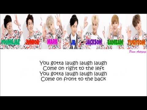 GOT7 Laugh Laugh Laugh Lyrics (Color Coded+Japanese+Rom)