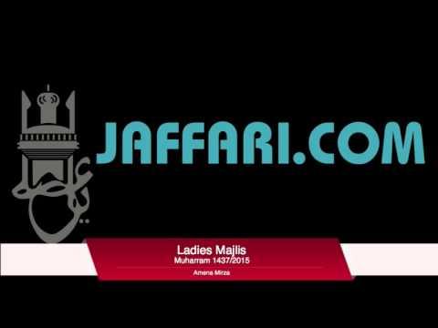 9th Muharram 2015/1437 Ladies Majlis Amena Mirza Urdu