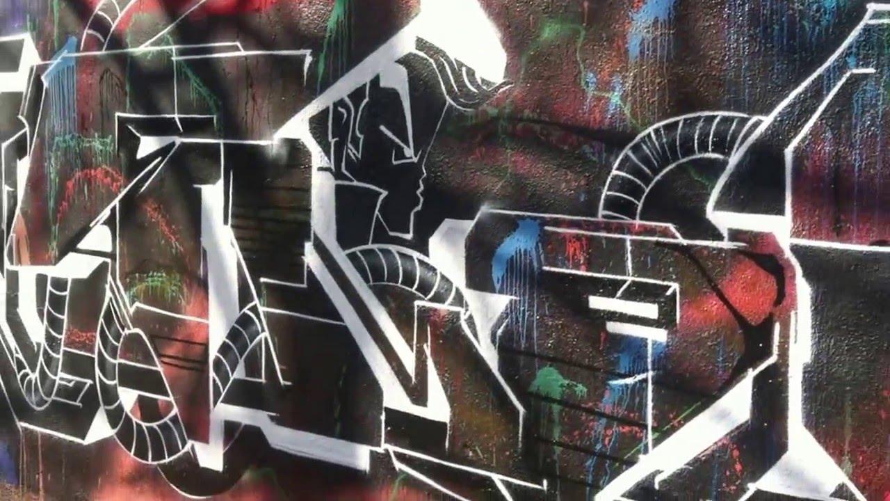 Graffiti wall barcelona - Graffiti Wall In Barcelona 2016 03 08 Mixed Painters