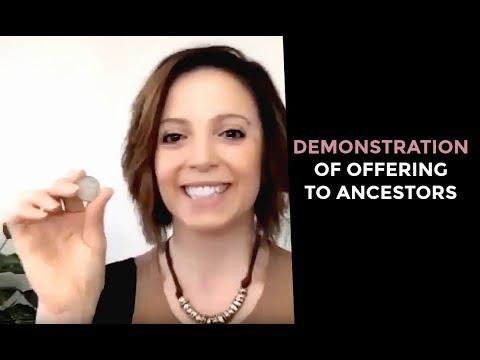 Demonstration Of Offering To Ancestors
