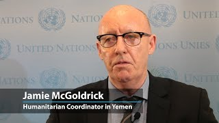 'Just stop the war,' says UN aid official in Yemen