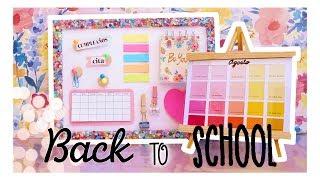 IDEAS PARA ORGANIZARSE  | DIY | Regreso a Clases/Back to School