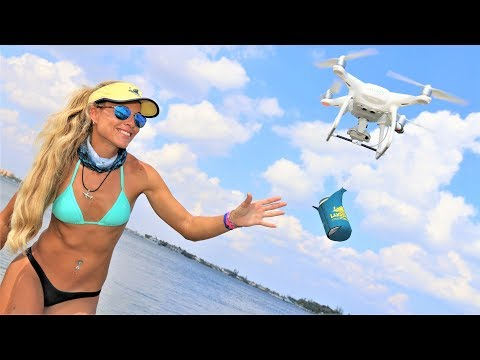 Florida Sandbar Raft Up Party ft. DRONE BEER Delivery!