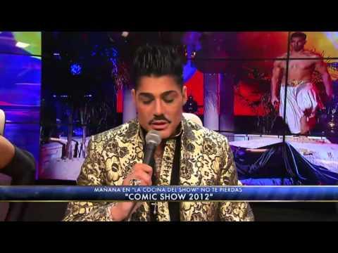 Showmatch 2012 - Árabe, Arena Y Pelea Para Andrea Rincón