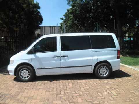 2003 Mercedes Benz Vito 112 Cdi Crew Bus Auto For Sale On Auto