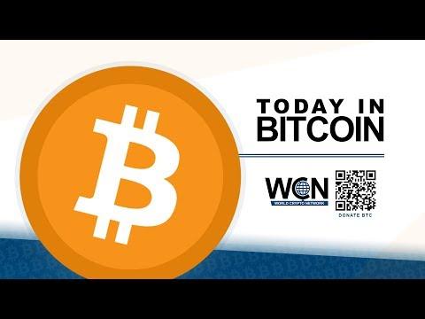 Today in Bitcoin (2017-09-18) - U.S. Bill Introduced - Crazy ICOs - India - Bitcoin $25,000?