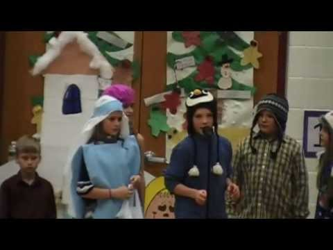 December in Our Town - MES Christmas Program 2012: Gr 2-4