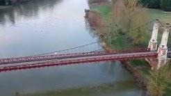 Drone Autour de Joigny - Yonne, Bourgogne, France [DJI Spark]