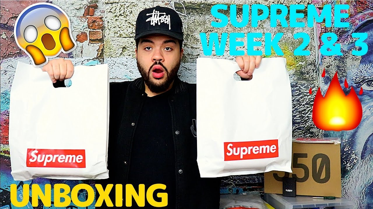 726ba4bf8c35 SUPREME SS18 WEEK 2   3 UNBOXING!! BEST ACCESSORIES - YouTube