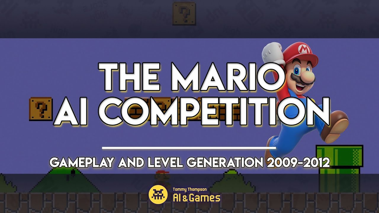 The Mario AI Competition – AI and Games