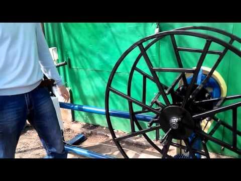 видео: Перемоточный станок- для перемотки кабеля до 35 мм - своими руками