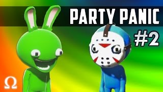 THEY CAN'T STOP GREATNESS! | Party Panic #2 Funny Moments Ft. Delirious, Cartoonz, Bryce