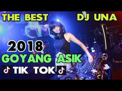 PALING ENAK DJ UNA GOYANG TIK TOK AKIMILAKU - DJ BREAKBEAT SLOW REMIX VIRAL 2018