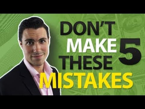5 STUPID Mistakes I Made My First Year as an Entrepreneur ...