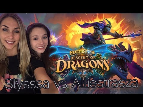 Alliestrasza vs Slysssa - Descent of Dragons - Hand Warlock vs Dragon Mage