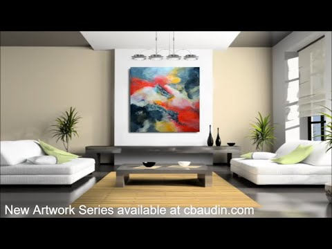 ABSOLUTE SKIES SERIES ABSTRACT ART FRENCH PAINTER