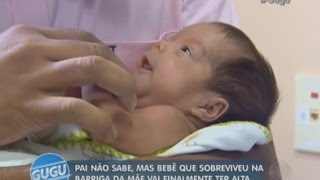 Gugu conta a história do bebê que cresceu na barriga da mãe com morte cerebral