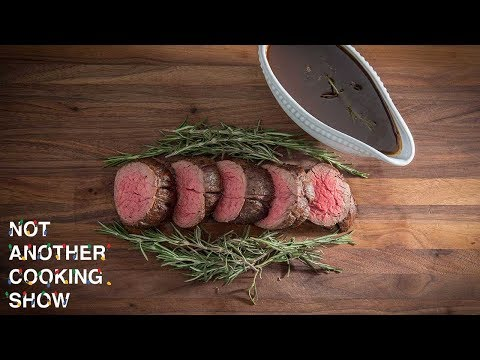 CHATEAUBRIAND WITH PORT WINE REDUCTION SAUCE