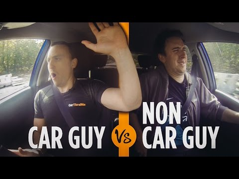 Thumbnail: Car Guys VS Non-Car Guys: Driving School