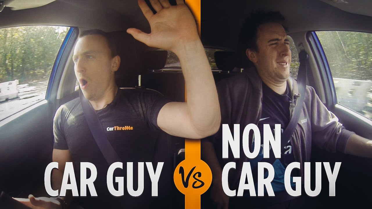 Car Guys VS Non-Car Guys: Driving School