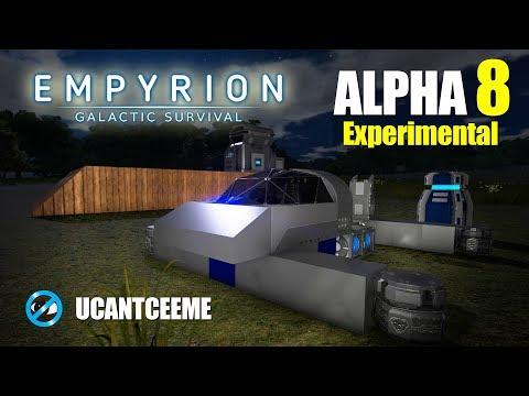 Empyrion Galactic Survival | Alpha 8 Experimental | SCRATCH HV HOVER VESSEL | Promethium Ore | Ep. 4