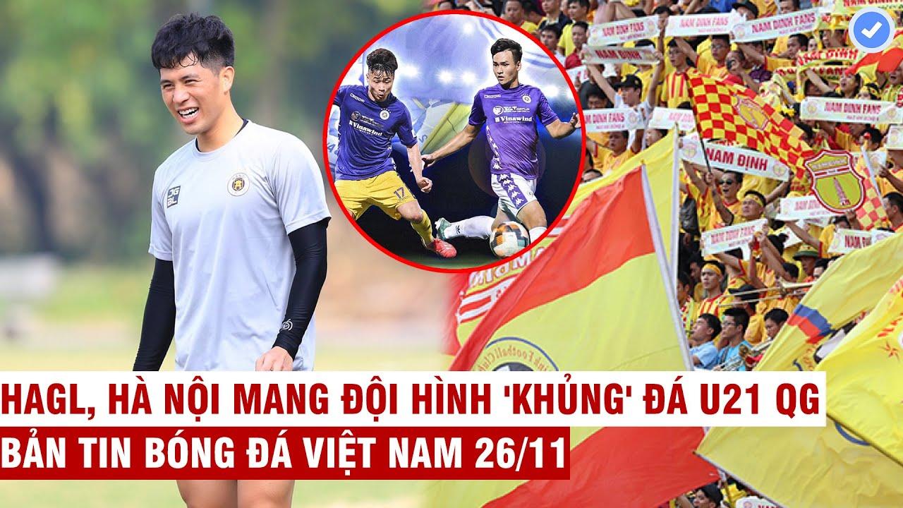 VN Sports 26/11 | Đình Trọng trở lại cùng Hà Nội FC, Nam Định số 1 Đông Nam Á về khán giả