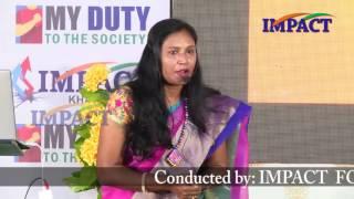 The Secrets of Failures  by Kavitha Renikuntala at IMPACT Khammam 2016