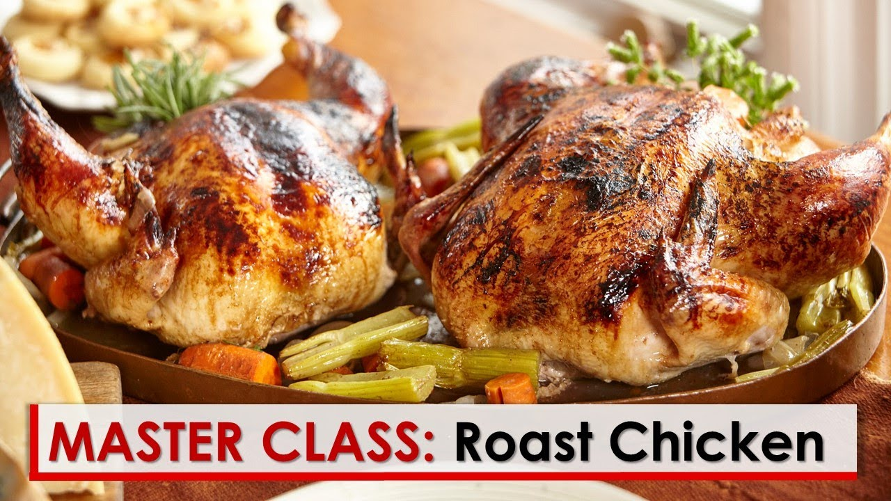 Lidia S Master Class Perfect Roast Chicken Youtube
