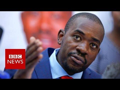 Zimbabwe: Opposition leader Chamisa calls Zimbabwe election 'fraudulent' - BBC News