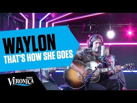 Waylon met That's How She Goes // Live bij Radio Veronica