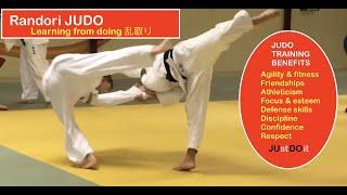 RANDORI JUDO:   Learning by doing     乱取り