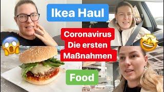 Die ersten Maßnahmen zum Corona Virus l Werkstadt l Ikea Haul