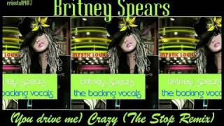 Britney Spears (You drive me) Crazy (The Stop Remix) Instrumental with Backing Vocals