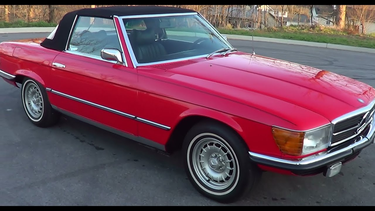 """1975 Mercedes Convertible >> 1975 Mercedes Benz 450 SL """"For Sale"""" - YouTube"""
